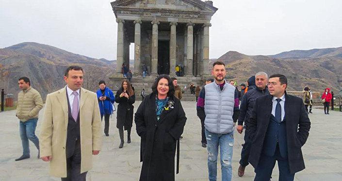 Նադեժդա Բաբկինան Հայաստանում