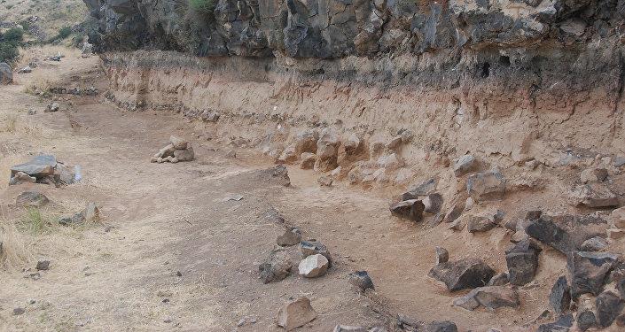 Раскопки в Нор Геги