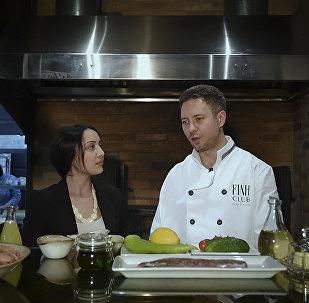 Շեֆ խոհարարին հյուր. մանր ծովախեցգետին ու Խե պատրաստելու գաղտնիքը