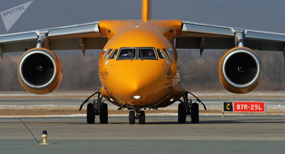Կործանված ԱՆ– 148 օդանավը