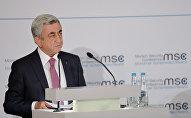 ՀՀ վարչապետ Սերժ Սարգսյանը