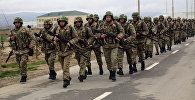 Ադրբեջանի ԶՈՒ զորավարժության մասնակիցները