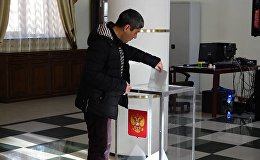 ՌԴ  նախագահական  ընտրությունները  մեկնարկեցին նաև Գյումրիում տեղակայված տեղամասում