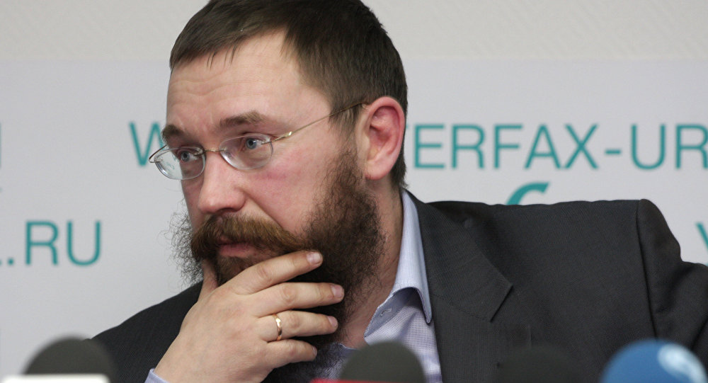 Генеральный директор российского антикризисного расчетно-товарного центра Герман Стерлигов