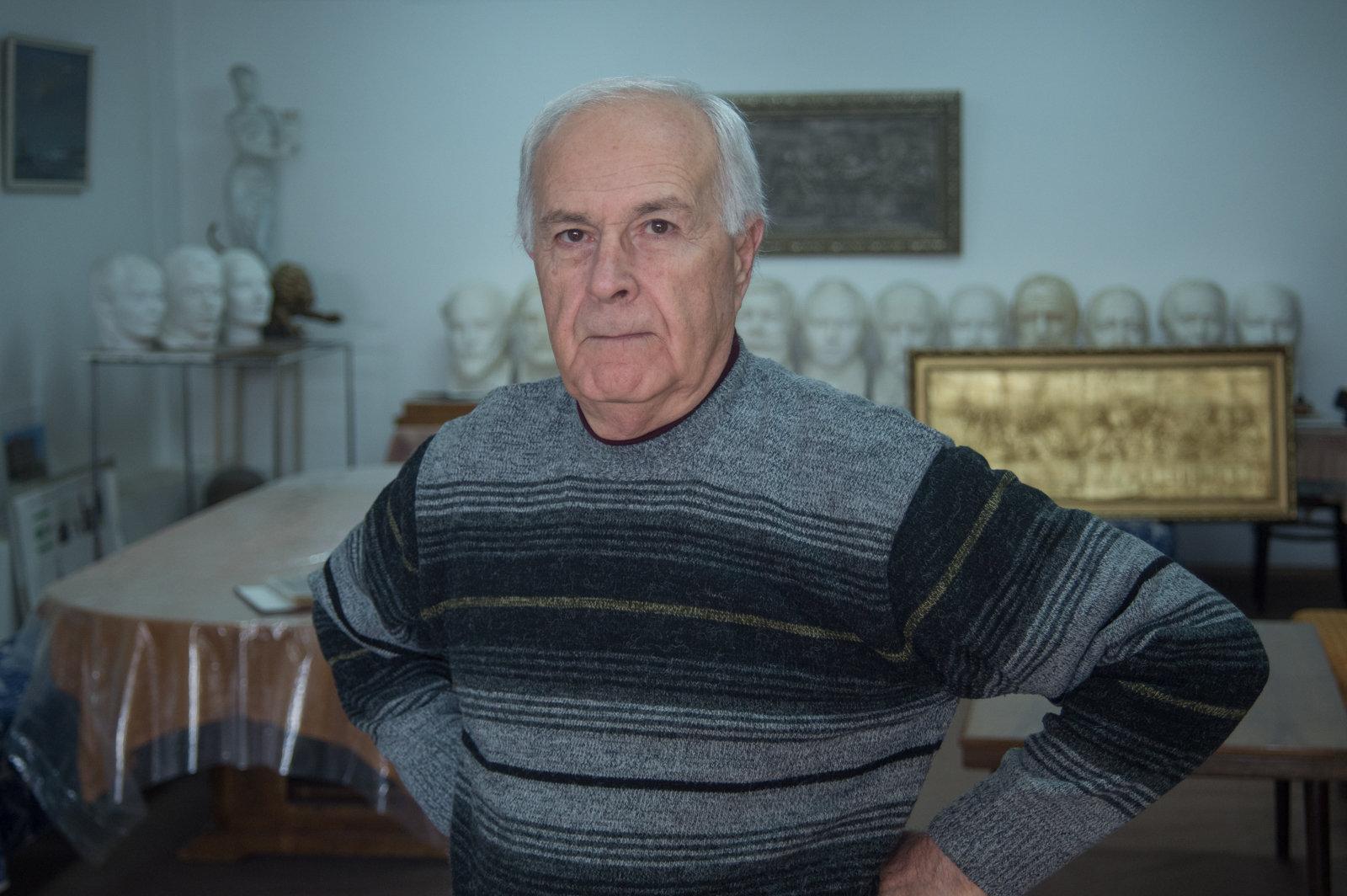 Скульптор Владимир Анташян