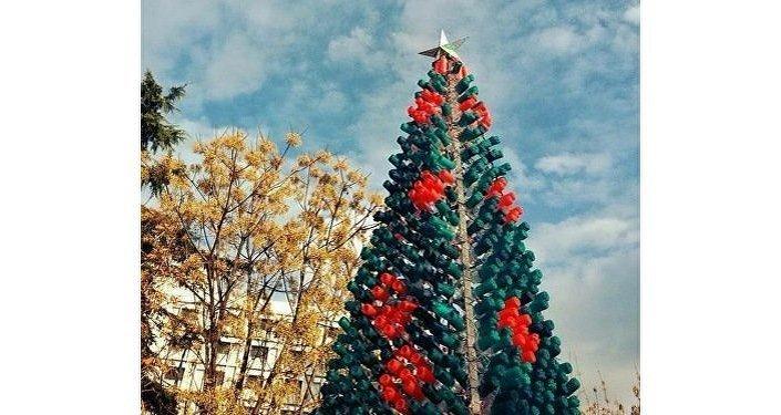 Новогодняя елка в Албании