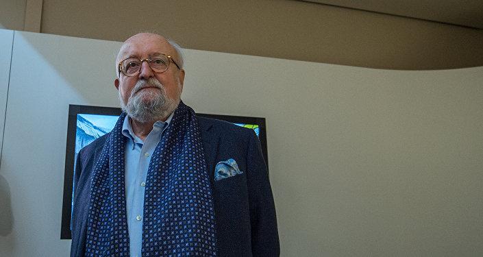 Польский композитор и дирижёр Кшиштоф Пендерецкий в Армении