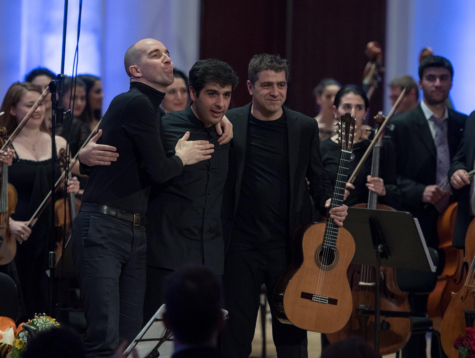 Марио Стефано Пьетродарки, Сергей Смбатян, Лука Лючини