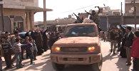 Спутник_Жители шиитского города под Алеппо с ликованием встретили солдат Асада
