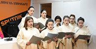 «Հավատամք» երգչախմումբը շարականներ երգեց ասուլիսի ժամանակ