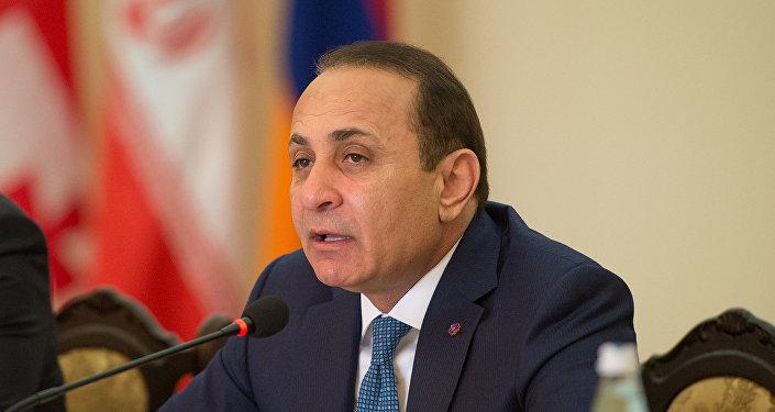 Премьер-министр Армении Овик Абраамян