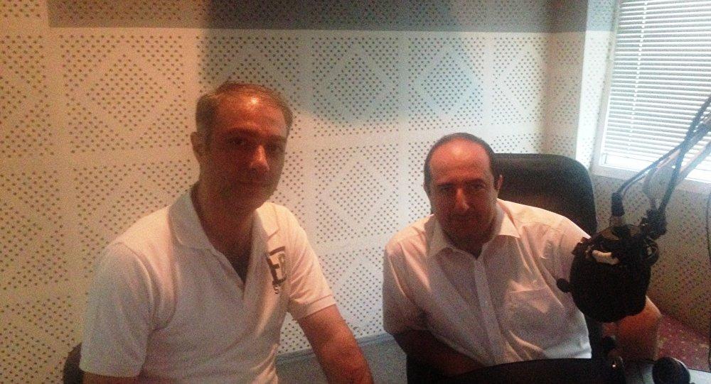 Артак Манукян и Артак Мурадян