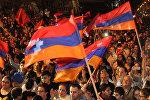 Шествие армян Бурдж-Амуда против агрессии Азербайджана