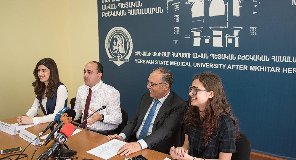Пресс-конференция организаторов визита нобелевских лауреаетов