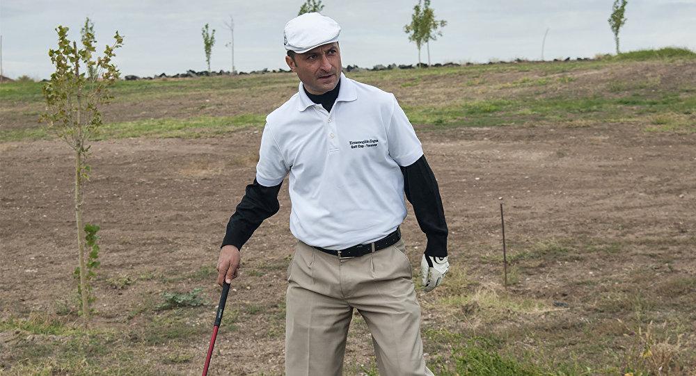 генеральный секретарь и главный тренер Национальной ассоциации гольфа Армении Карен Оганесян