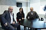Чемпионка Европы по тяжелой атлетике Назик Авдалян в гостьях  Радио Sputnik Армения