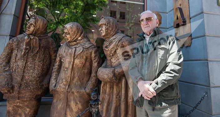 Шарль Азнавур в Ереване