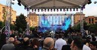 Фестиваль, приуроченный к Международному дню джаза, прошел в центре Еревана