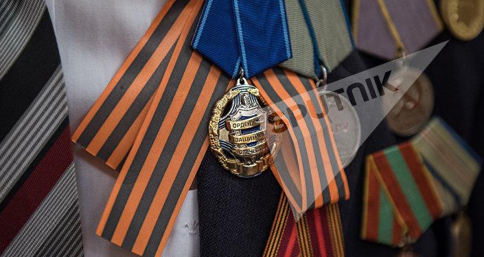 Орден защитника отечества и Георгиевская ленточка