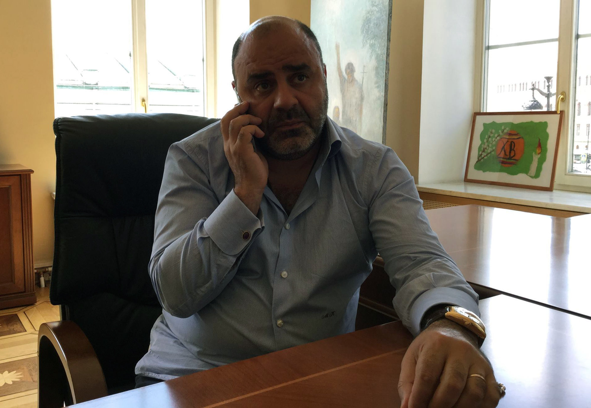 Руководитель армянской общины в Санкт-Петербурге Карен Мкртчян