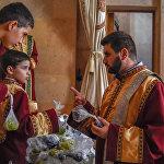 Սուրբ Աստվածածնի վերափոխման և խաղողօրհնեքի տոնը