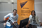 Светлана Саакян в гостях у радио Sputnik Армения