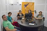 Мгер Манукян, Гаяне Авагян, Сусанна Мкртчян в гостях у радио Sputnik Армения