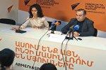 Sputnik Արմենիա մամուլի կենտրոնում կայացել է ՀՀ ԱԺ պատգամավոր Թևան Պողոսյանի ասուլիսը