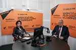 Давид Фанарджян в гостях у радио Sputnik Армения