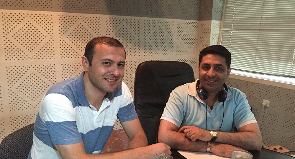 Армен Григорян и Геворг Меликян