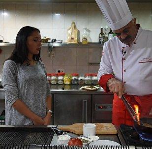 Շեֆ խոհարարին հյուր. տապակա «Արմավիր»