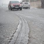 Ձյունը դժվարացրել է Երևանի ճանապարհային երթևեկությունը