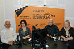 Шаварш Хачатрян, Гамлет Ованнисян и Сусанна Умудян в гостях у радио Sputnik Армения