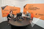 Арам Николян в гостях у радио Sputnik Армения