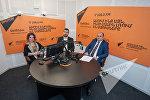 Гурген Ованнисян и Наири Мнацаканян в гостях у радио Sputnik Армения