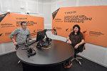 Наталия Беляускене в гостях у радио Sputnik Армения