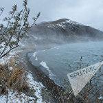 Լեռներից իջնող մառախուղը լցվում է Սևանա լիճ