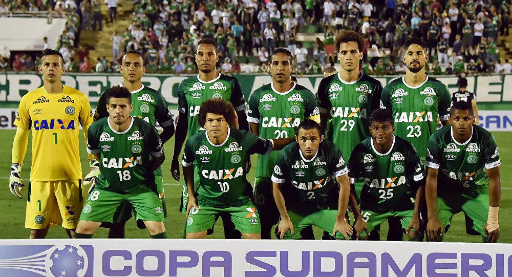 Բրազիլական «Շապեկոենսե» թիմը