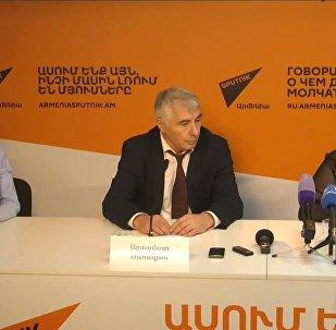 Sputnik Արմենիա մամուլի կենտրոնում տեղի է ունեցել մամուլի ասուլիս` նվիրված Սպիտակի երկրաշարժի տարելիցին