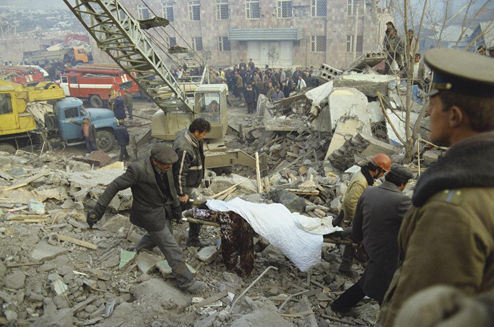 Ավերիչ երկրաշարժի զոհերը