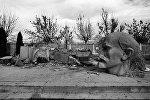 Լենինի ավերված արձանը