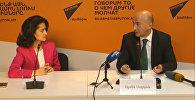 Sputnik Արմենիա մամուլի կենտրոնում կայացել է Արմեն Սողոյանի մամուլի ասուլիսը