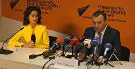 Sputnik Արմենիա մամուլի կենտրոնում կայացավ ԲՀԿ խմբակցության քարտուղար Վահե Էնֆիաջյանի ասուլիսը