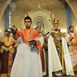 Սուրբծննդյան պատարագ Երևանում