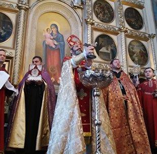 Թբիլիսիի Սուրբ Գևորգ եկեղեցում մատուցված Սուրբծննդյան պատարագ