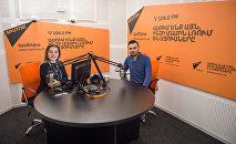 Երգիչ Անդրեն Sputnik Արմենիայի տաղավարում