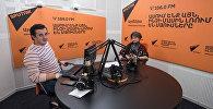 Рима Пипоян в гостях у радио Sputnik Армения