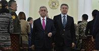 Սերժ Սարգսյանն ու Կարեն Կարապետյանը