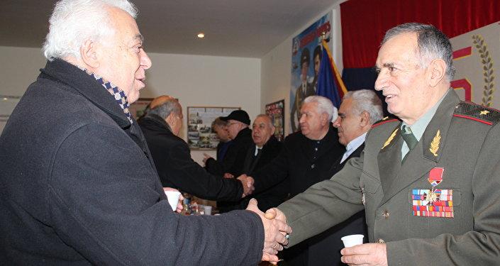 ԴՕՍԱԱՖ-ի 90-ամյակին և Հայոց բանակի 25-ամյակին նվիրված պարգևատրում