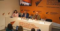 Sputnik Արմենիա մամուլի կենտրոնում տեղի ունեցավ Սեդրակ Մամուլյանի և Արտեմ Ենգոյանի ասուլիսը